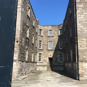 the old Debtors Prison near Capel St with Arran Henderson of Dublin Decoded Tours