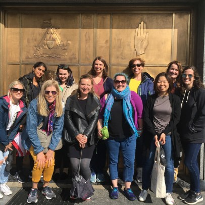 some recent guests on a Dublin Decoded Tour