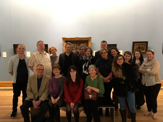 How to Read a Painting with Dublin Decoded Nov 2017, copyright of Arran Henderson & Dublin Decoded tours