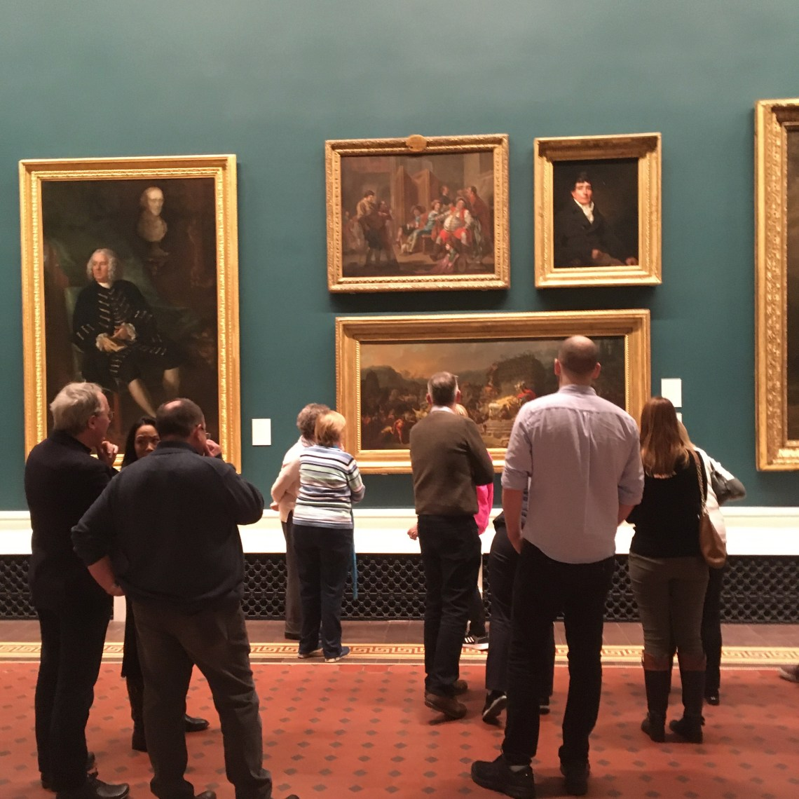 National Gallery tour evening guided Art tour with Arran Henderson of Dublin Decoded 3