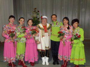 ансамбль дубрава и Сергей Ижукин