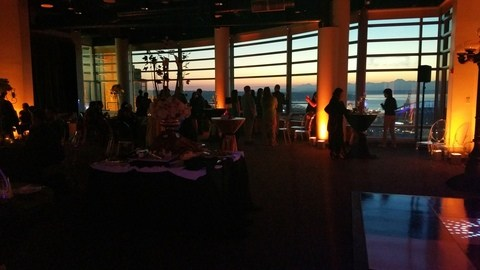 Pacific Tower Seattle Wedding