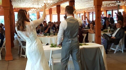 trinity tree farm wedding