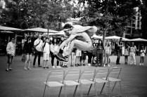 clown jumping Jean-claude photo Audrey Michel