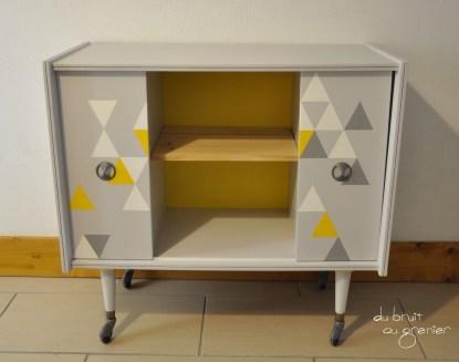 relooking de meuble du bruit au grenier. Black Bedroom Furniture Sets. Home Design Ideas