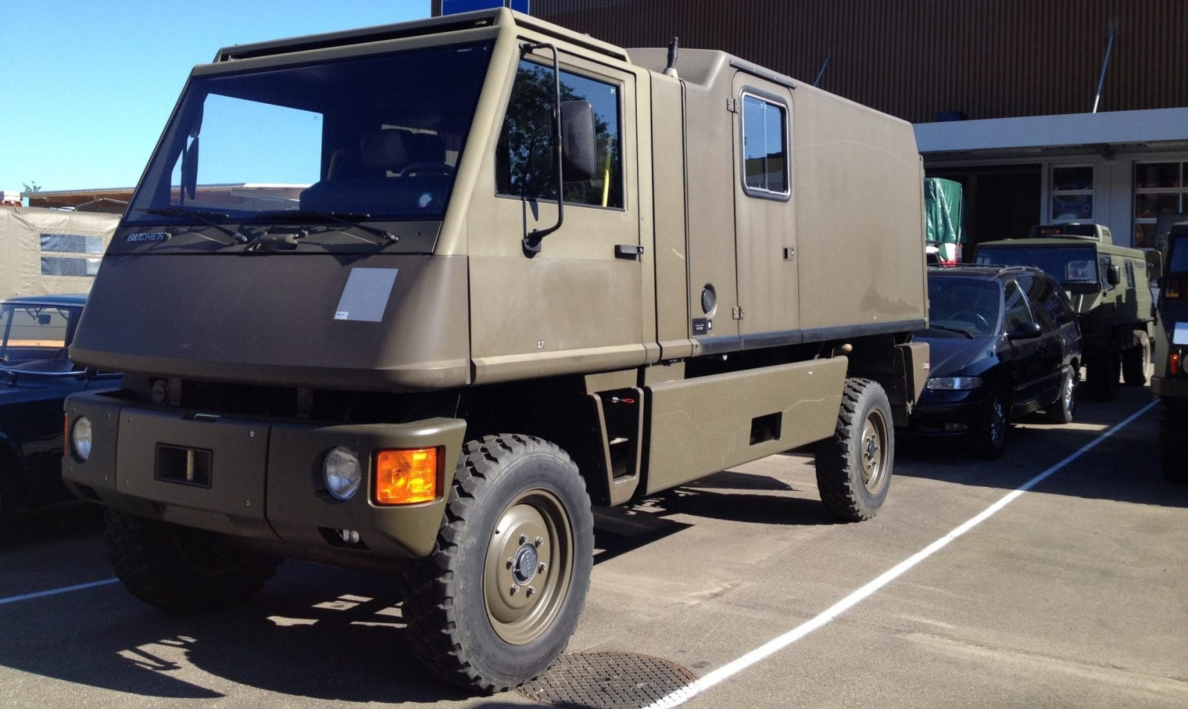 Bucher Duro. Better - the Swiss Unimog
