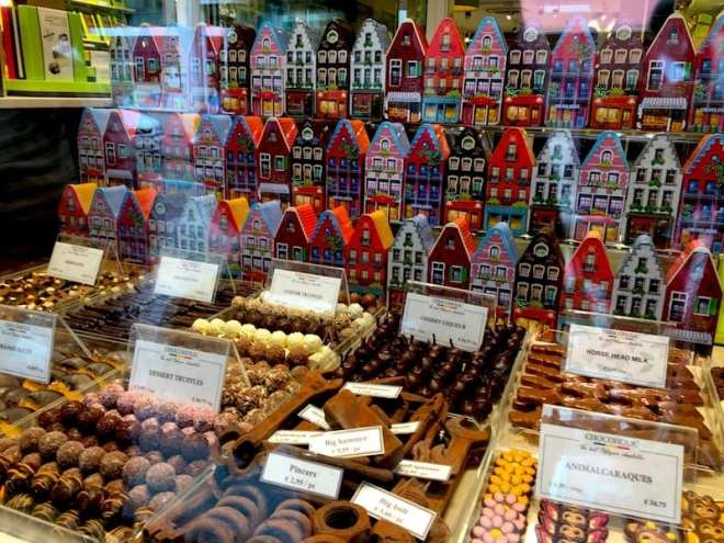 Schweizer Schokolade hinkt hinter der belgischen her.