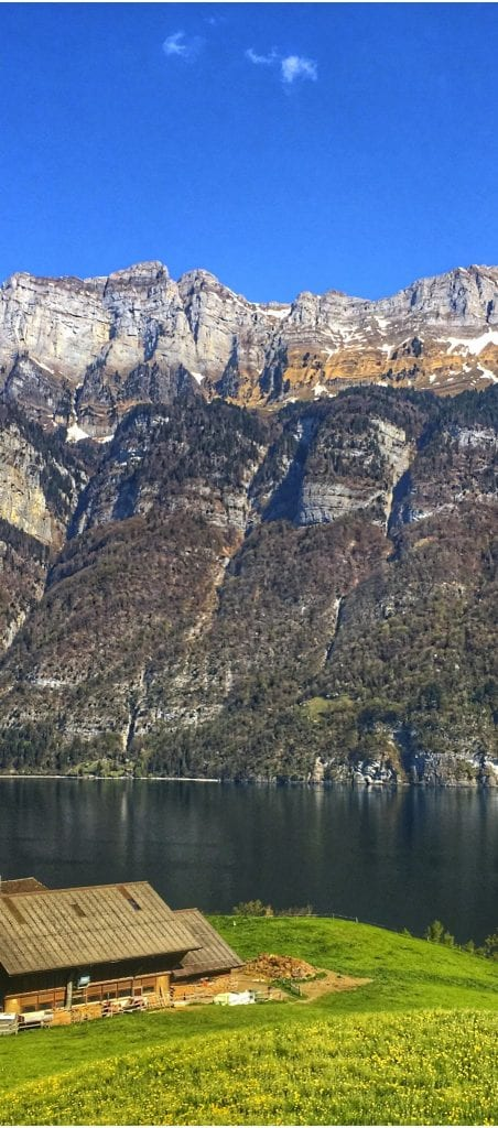 Schweiz und die Churfirsten