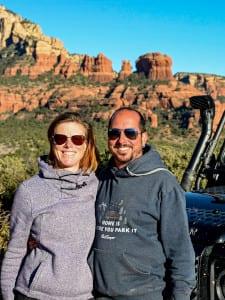 Marion und Fabian. Wir und unser Camper