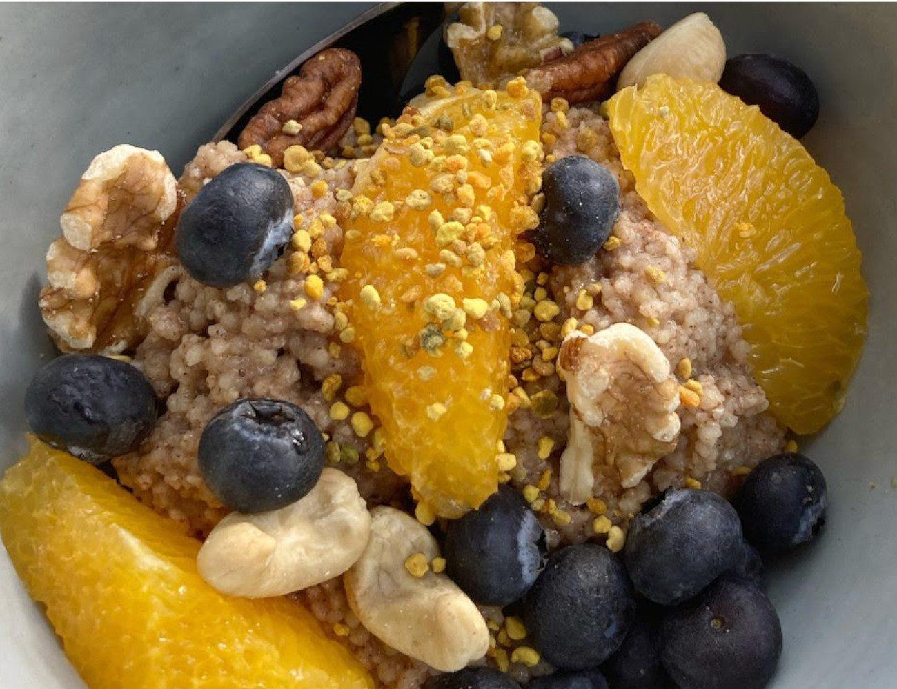 Couscous Beeren Breakfast