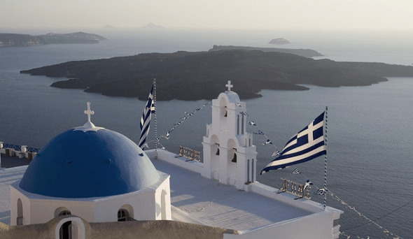 Greek_flag-Santorini