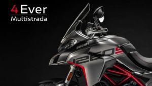 Ducati biedt 4 jaar garantie op alle modellen in de Multistrada familie met de 4Ever Multistrada garantie.