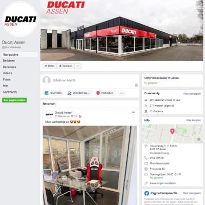 Ducati Assen Facebook