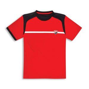 Ducati T-shirt Ducati Corse 19 red €38,68 L t/m 2XL