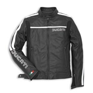 Jas Ducati 80's zwart van € 395,- voor € 275,-