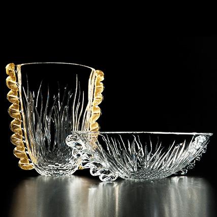 Organza vaso H 37 cm  e Centro Tavola Ø 50 cm H 15 cm Organza Vase  H 37 cm And Centrepieces  Ø 50 cm H 15 cm