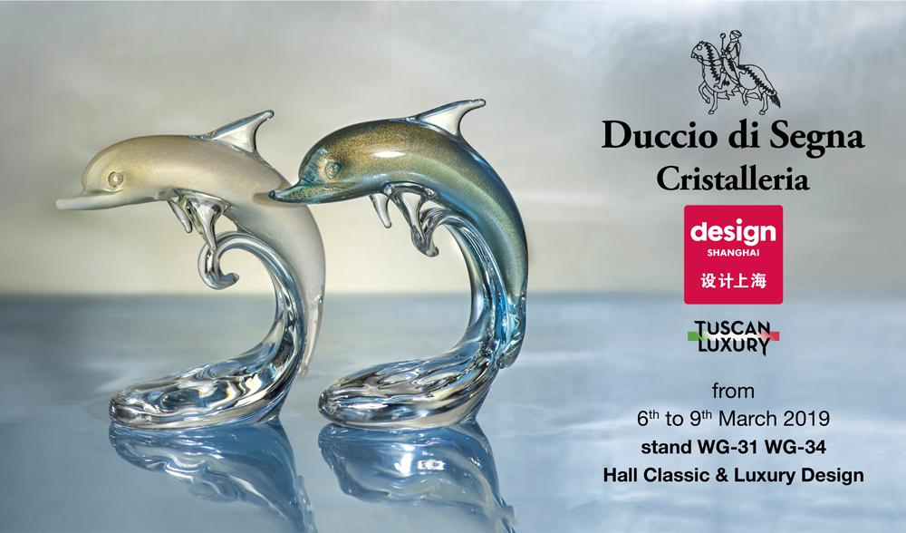 Shanghai Design 2019 Duccio di Segna cristalleria