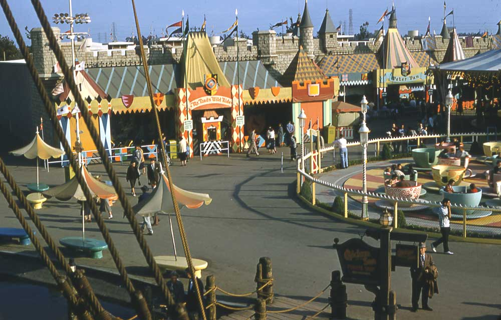 1983 Fantasyland Renovation And Expansion
