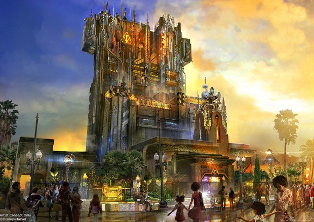 My Thoughts on the Tower of Terror and Marvel Land