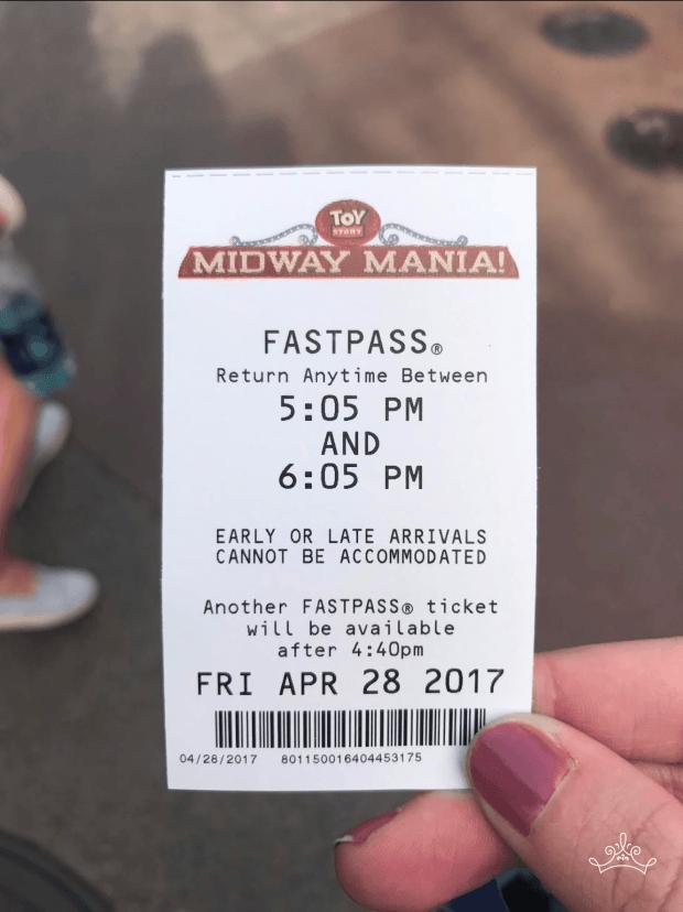 Digital Fast Pass