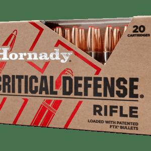 Hornady Critical Defense .223 Rem 55gr 20-Rounds FTX