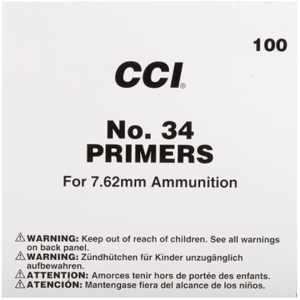 CCI Large Rifle 7.62mm NATO-Spec Military Primers