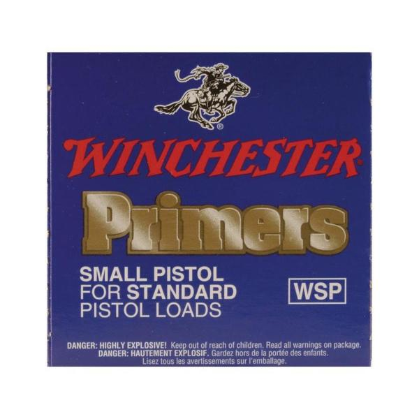 Winchester Small Pistol Primers #1-1/2