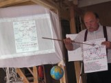 Tadeusz Mroziński w trakcie wykładu