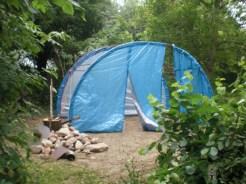 Namiot po - wstaje.