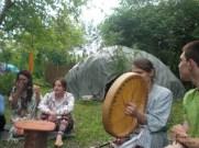 I popłynęły piękne pieśni... I zjedliśmy pycha zupkę :)