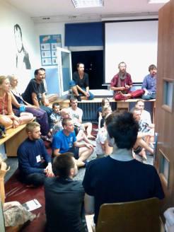 Zajęcia warsztatowe na małej sali cieszyły się dużym zainteresowaniem :)