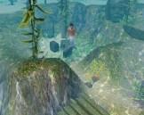 Teen mermaid underwater at dive site