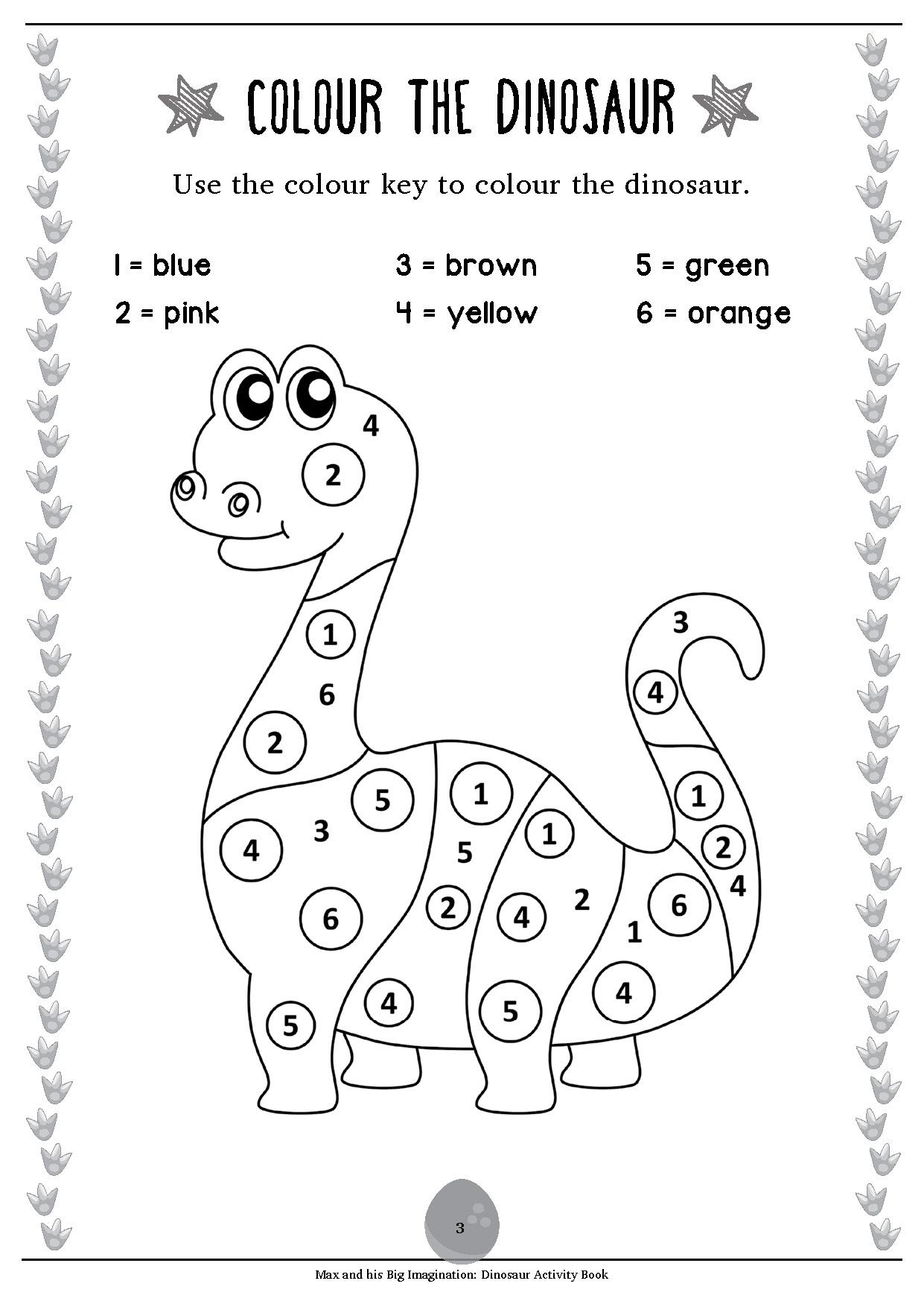 Pinterest Dinosaur Worksheets