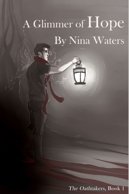 """Cover of """"A Glimmer of Hope"""" by Nina Waters"""