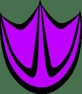 Transparent Duck Print: Purple