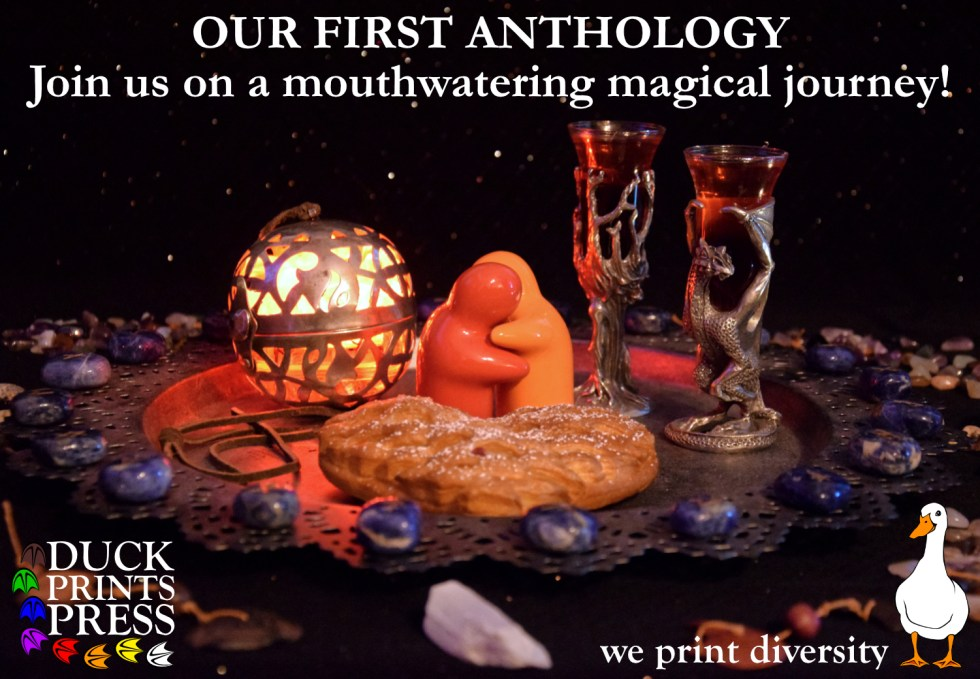 Join us on a mouthwatering magical journey - DPP's First Anthology!