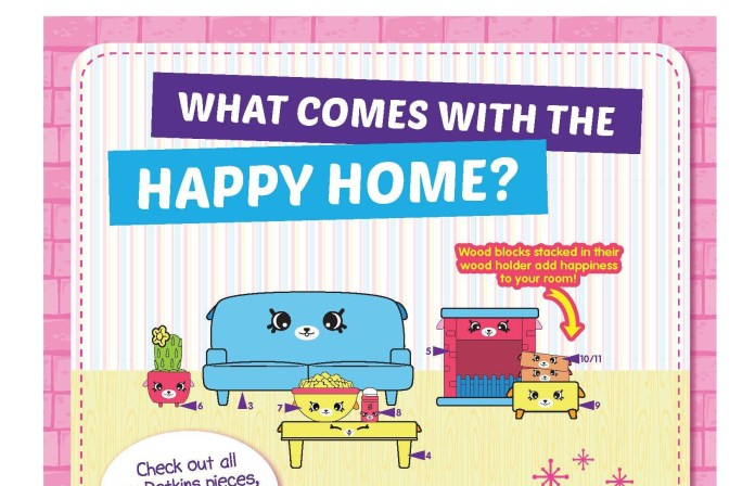 Shopkins happy home