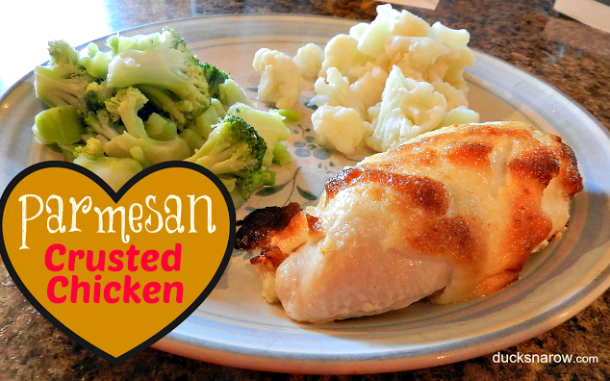 Hellman's parmesan crusted chicken recipe #chicken Ducks 'n a Row