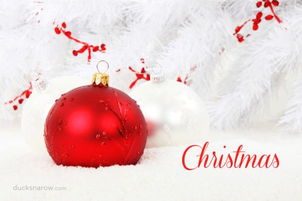 Christmas ornaments, decorations, balls