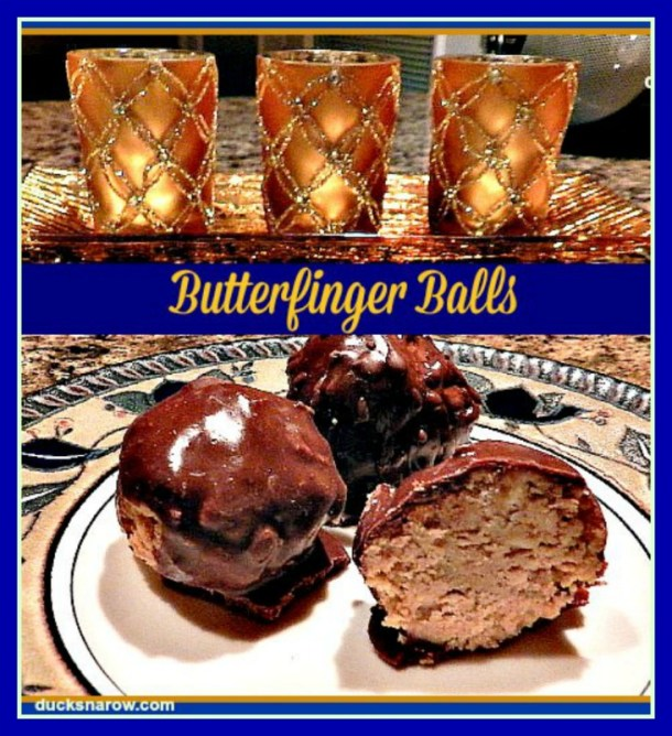 Butterfinger Balls are a yummy candy that is so special, you can give them as a gift! #recipes
