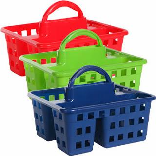 school supplies caddy, caddy, tote