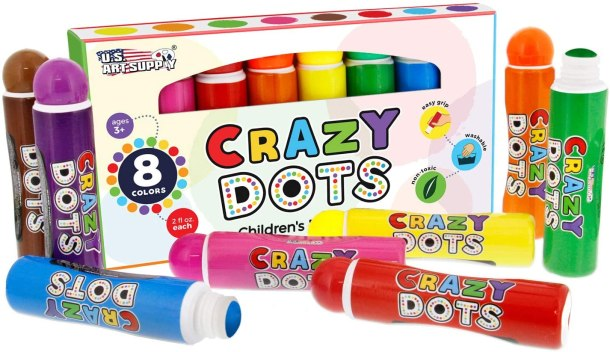 Crazy Dots Markers for kids #Ad