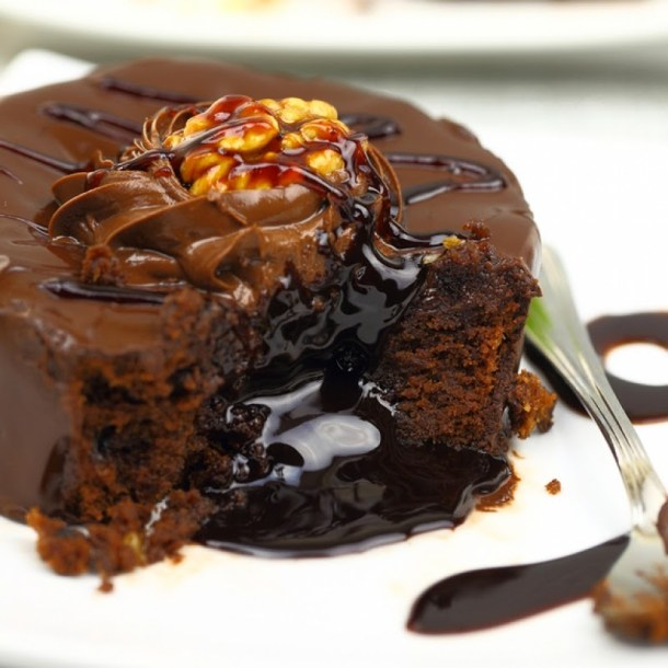 Chocolate Lava Cake #recipes