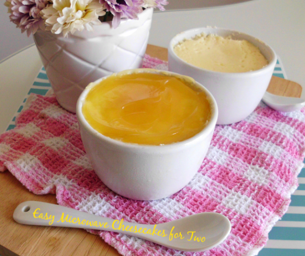 Microwave recipe from Pink Recipe Box #cheesecake #recipes