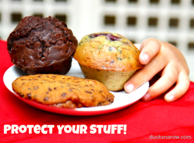 muffin thief #homeprotection #homesecurity #safety Ducks 'n a Row