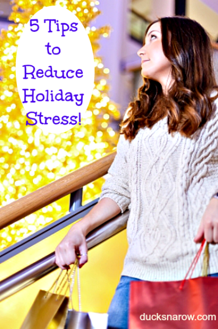 event planning; holidays; stress reduction