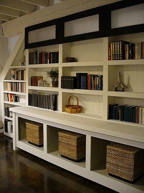 organizing plan; baskets, shelving, declutter