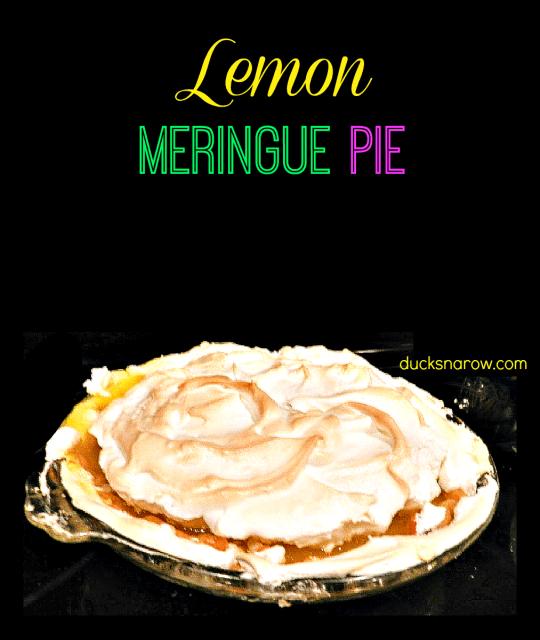 how to make a lemon meringue pie