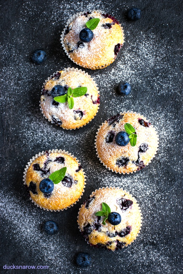 Simple tip that will make your blueberry muffins the best every time!