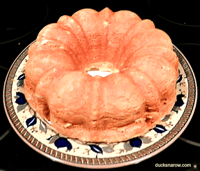 Homemade Cream Cheese Pound Cake #recipes